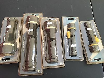 Job Lot Various Torches New X 5