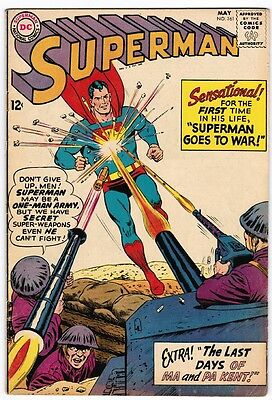 Superman 161 (1963) F First Told Death Ma ans Pa Kent