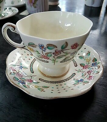 Vintage Foley Bone China Cup And Saucer