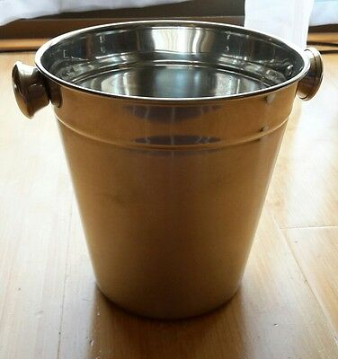 stainless steel ice bucket brand new