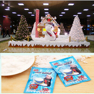 2/5/10 Fake Magic Instant Snow Fluffy Absorbant Decoration For Wedding CA