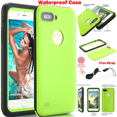 New Slim Waterproof Shockproof Dirt Proof Case Cover For Apple Iphone 7 8 Plus