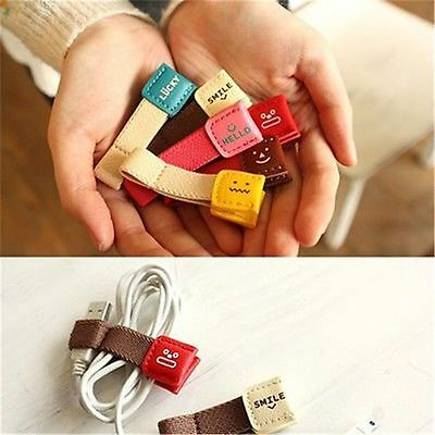 Holder Earphone USB Cord Cable Wire Organizer