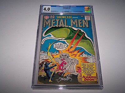 Showcase #37 CGC 4.0 ~ *SUPER KEY! ~ *1st App of The Metal Men* ~ TAKING OFFERS!