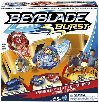 NEW Bey Blade  Epic Rivals Battle Set from Mr Toys