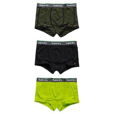Lot De 3 Boxers Sport Trunk Stripe Superdry