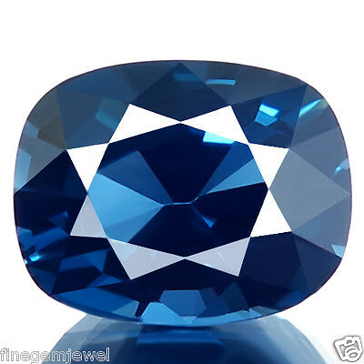 3.33ct WOW FLAWLESS RARE NATURAL UNHEATED COBALT BLUE COLOR SPINEL AWESOME GEM!