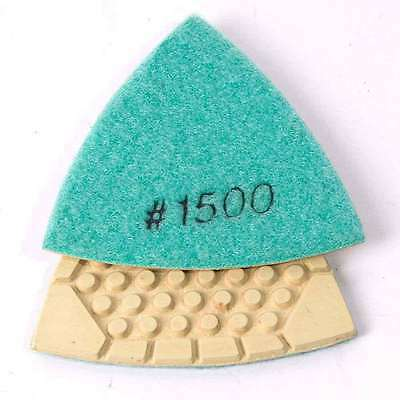 Specialty Diamond BRTTD1500 Diamond Triangular Dry Pad with 1500 Grit