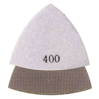 400 Grit Electroplated Diamond Triangular Polishing Pad For Oscillating Tools