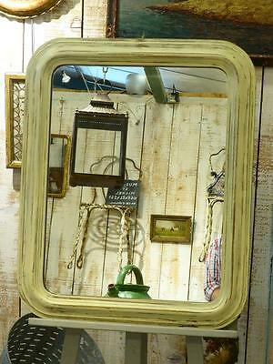 Late 19th century mirror with rounded corners - antique French mirror