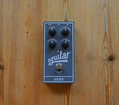 Aguilar Agro Bass Guitar Effects Pedal Overdrive Distortion