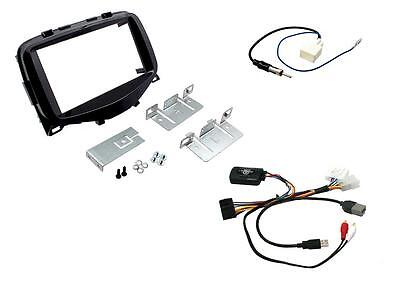 Connects2 CTKCT02 Citroen C1 2014 On Double Din Stereo Facia Fitting Kit