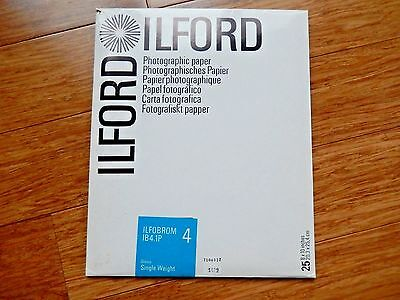 ILFORD Photographic Paper ILFORROM IB4.1P 8X10 Glossy Single Weight 16 Counts