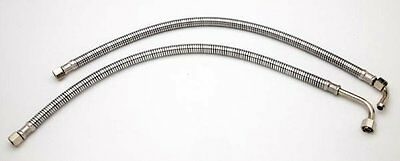42-8344/5 - Armoured Oil Feed Pipes (under gearbox) - BSA - B Group - WW28848