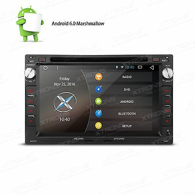 """Radio Dvd Gps Android 6.0 Canbus 2Din 7"""" Tactil Para Vw T4 T5 Golf Iv Seat Leon"""