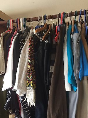 25pc Wholesale Mixed Lot of Men's Women's Clothing for Resale