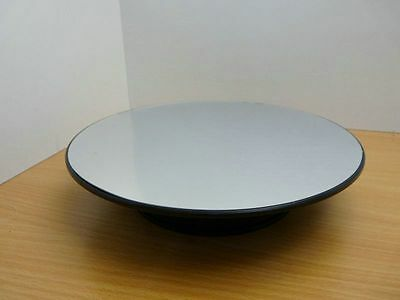 PLATEAU TOURNANT MIROIR D 25cm pour 1/24 Rotary Display Stand 10in