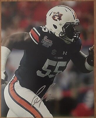 Carl Lawson Signed Autographed 8x10 Photo Picture Auburn Tigers