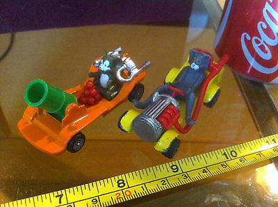 Corgi Tom and Jerry  Bundle x 2 Diecast Collectable Toy Car Classic Rare Cars