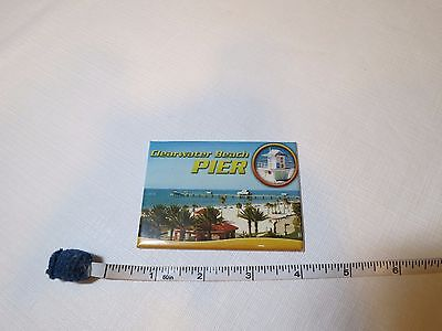 Clearwater Beach Pier travel souvenir magnet fridge refrigerator ocean lifeguard