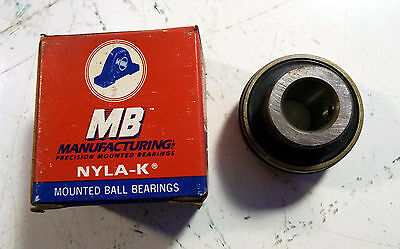 1 New Mb Manufacturing 25 Pat 3797901 Precision Bearing Insert 9/16