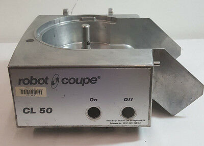 Robot Coupe CL50 Series D Motor Housing Replacement