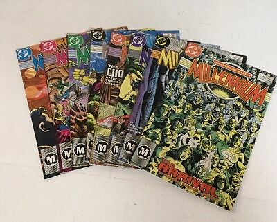 Millennium 1 2 3 4 5 6 7 8 Complete Lot Set Run Nm Near Mint 9.4