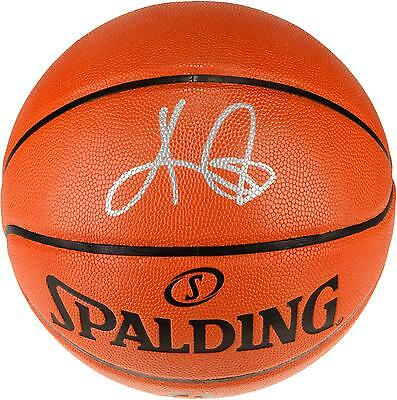 Kyrie Irving Cleveland Cavaliers Signed Replica Basketball Panini Authentic