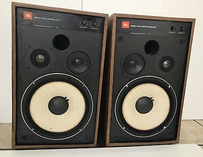 YAMAHA NS-10M Studio Monitor Vintage, 120 WattS RMS Original Working Perfect