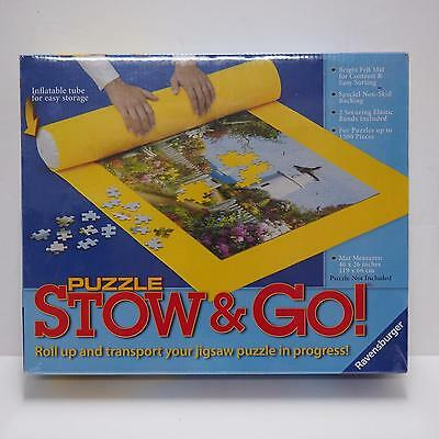 "Ravensburger Stow & Go puzzle storage system - 46x26"". New & Sealed"