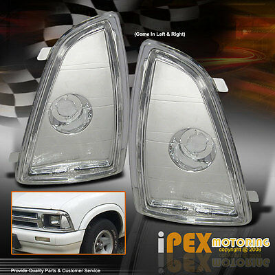 New For 1994-1997 Chevy S10 S-10 Front Corner Signal Marker Lights
