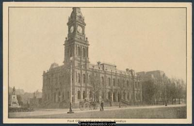 Bendigo. Post Office and Law Courts