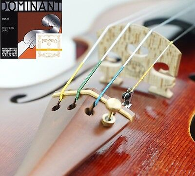 Thomastik Dominant Violin String set with Gold Label E Ball End 4/4 USA SELLER