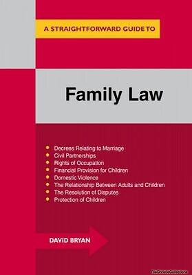 Family Law 9781847166692 David Bryan Paperback New Book Free UK Delivery