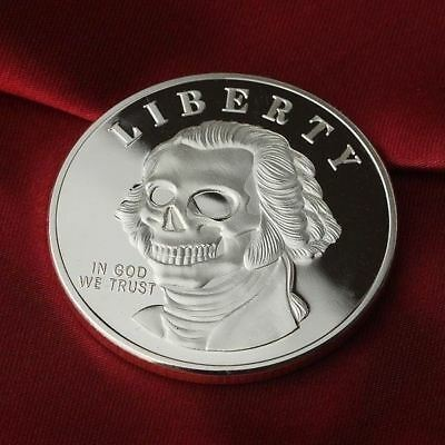 1 Troy oz  .999 Fine Silver Round Bar / Bullion /  G3SB1F1