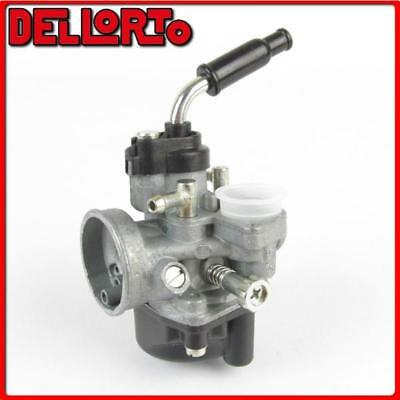 01012 Carburetor Dellorto Phva 17,5 Ed 2T Automatic Air With Mix Universal Scoot