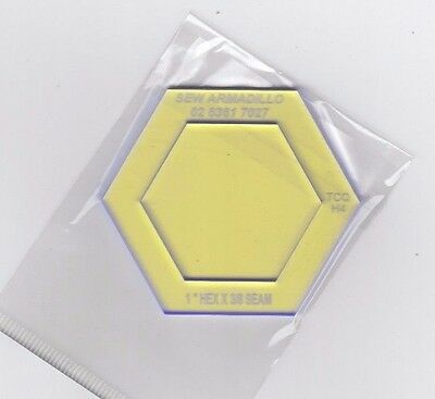 "1"" Hexagon Template & Viewing Window"