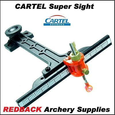 Cartel Super Sight archery sight for recurve bows