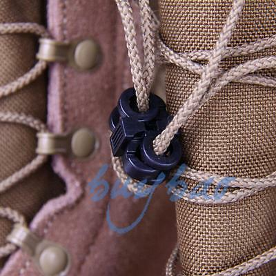4 pairs Sports Outdoor Paracord Stopper Cord Shoe Buckle Lock