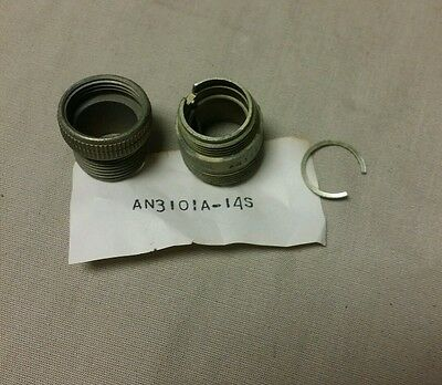 LOT OF 30 Amphenol  Circular Connectors AN3101A-14S *SHELL ONLY