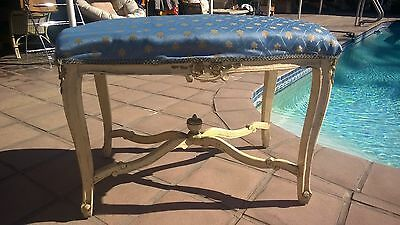 Antique French Or Italian Bench Carved Wood Base