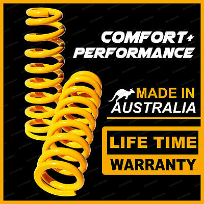 2 Front Raised King Coil Springs For MITSUBISHI TRITON ML MN 4WD MY07 MY08 EXTRA