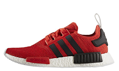 huge selection of 54724 45d97 Exclusive Adidas Nmd Runner R1 Red Black Bb2885 Uk-11 (Pti)