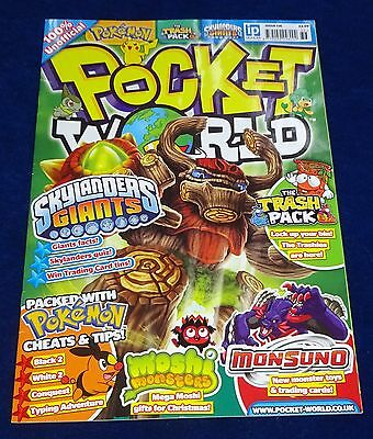 Pocket World Magazine #136;  Pokemon, Yu-Gi-Oh, Moshi Monsters, Lego Etc  Used
