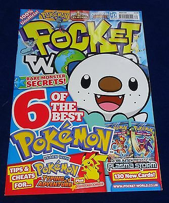 Pocket World Magazine #139;  Pokemon, Yu-Gi-Oh, Moshi Monsters, Lego Etc  Used