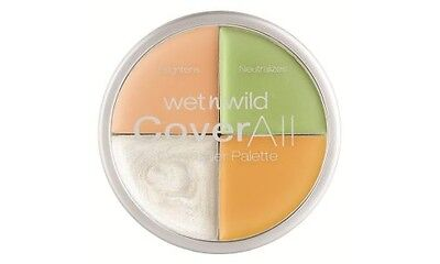 WET N WILD coverall concealer - palette correttore e61462 all cleared up