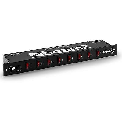 Beamz 8 Channel Console Light Switching Stage Cable Toggle