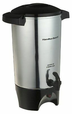 Industrial Commercial Coffee Pot Large Maker 42-Cup Coffee Urn Makes 12-42 Cups