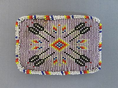 Vintage Native American Beaded Belt Buckle In Great Condition