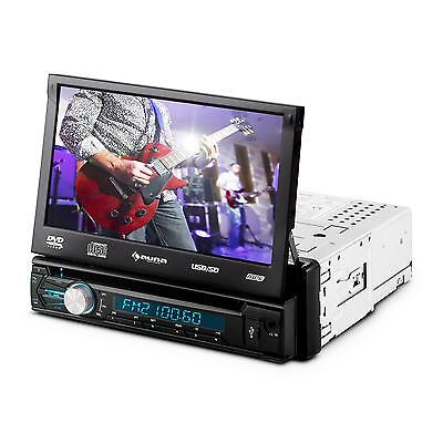 "Auto Radio Dvd Player 7"" Touchscreen Bluetooth Usb Sd Mp3 Ukw Freisprechfunktion"